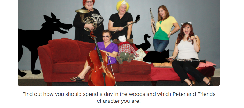 Which Peter and the Wolf Character Are You?